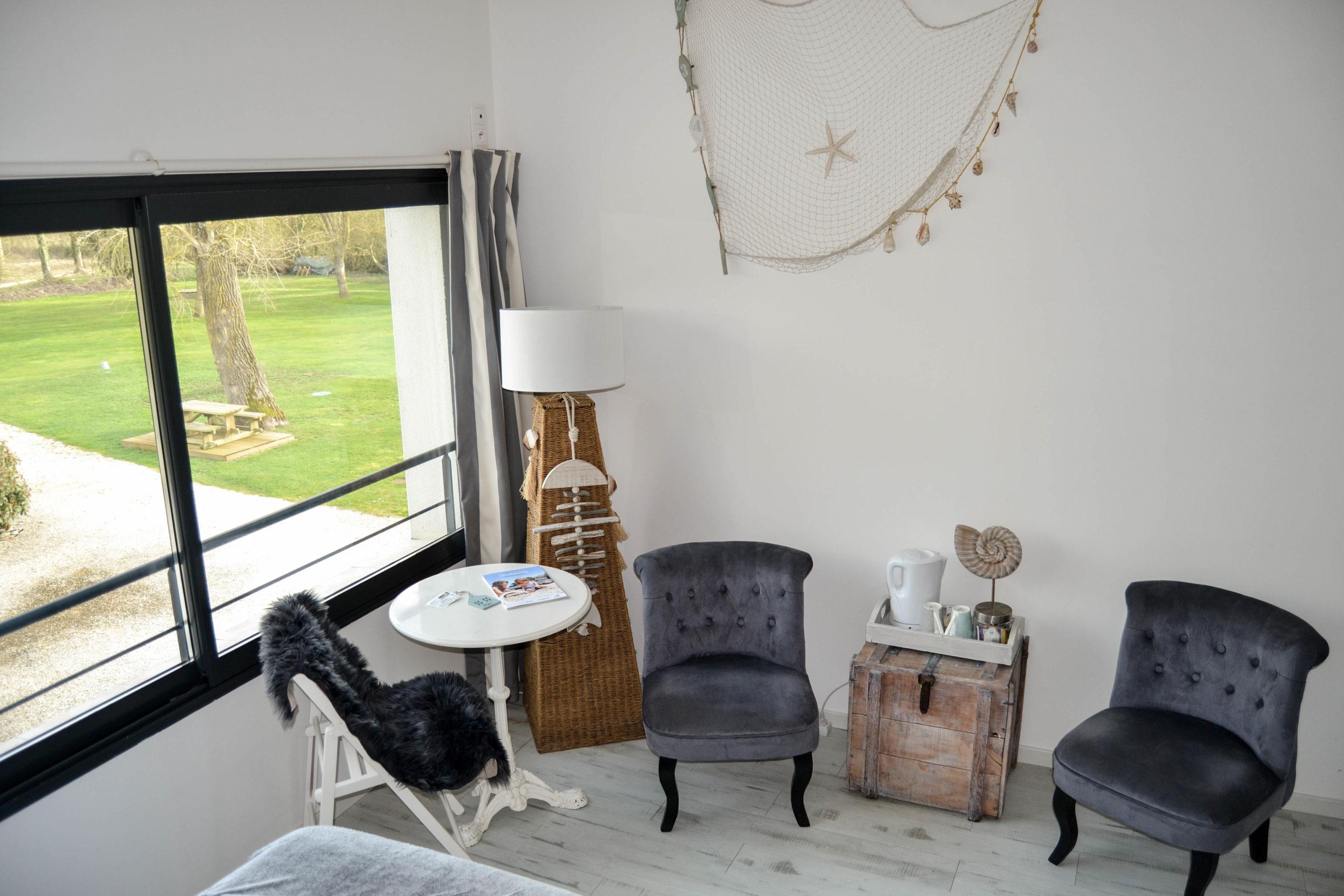 Chambre Mer - Petit salon